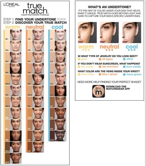 foundation color match best 25 true match foundation ideas on loreal