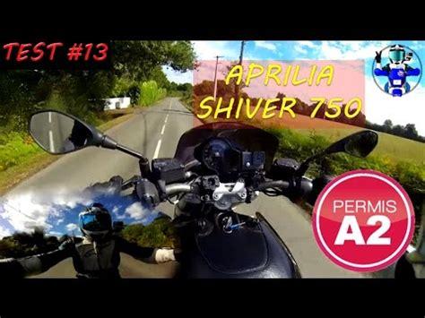 aprilia shiver 750 a2 test moto 13 aprilia shiver 750 permis a2