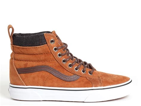 Vans SK8-HI (MTE) Glazed Ginger / Plaid - Boardvillage
