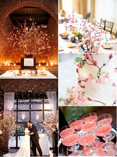 Spring wedding ideas: Cherry blossom weddings A Wedding Blog