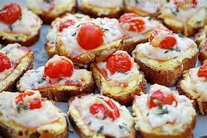 Idée Toast Apéro : toasts ap ro jambon tomate moutarde aud 39 la cuisine ~ Melissatoandfro.com Idées de Décoration