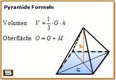 mantelfläche berechnen pyramide formel berechnen mantelfläche oberfläche volumen