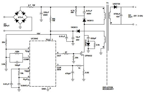 uctypical application reference design dc  dc