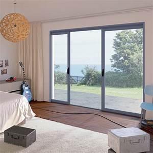 Baie à Galandage : fen tre et baie vitr e aluminium galandage franciaflex ~ Melissatoandfro.com Idées de Décoration