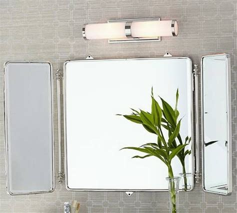 Tri Fold Bathroom Wall Mirror by 15 Collection Of Tri Fold Bathroom Wall Mirrors