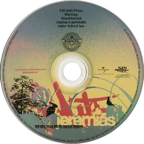 Carátula CD de Un Dia Mas En El Gran Circo de Jeremias