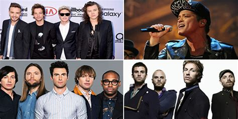 maroon 5 vs coldplay bruno mars one direction maroon 5 coldplay who will