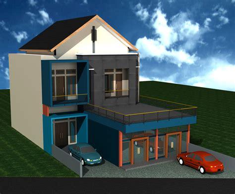 rizal echaa gambar perencanaan rumah rizal eka  jogja