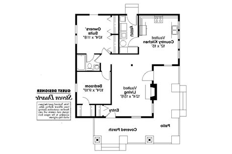 Craftsman Floor Plans by Craftsman House Plans Pinewald 41 014 Associated Designs