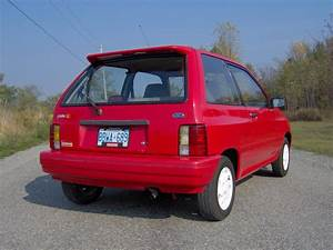 1993 Ford Festiva - Information And Photos