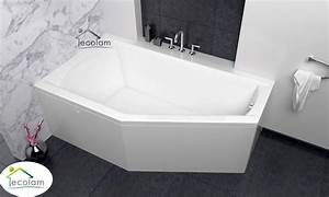 Acryl Badewanne Reinigen : badewanne eckbadewanne acryl 160 x 90 cm sch rze ablauf ~ Lizthompson.info Haus und Dekorationen