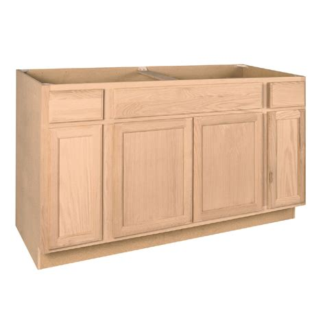 60 kitchen sink base cabinet shop project source 60 in w x 34 5 in h x 24 in d