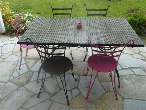 castorama chaise de jardin table de jardin fer forgé élégant indogate chaise jardin