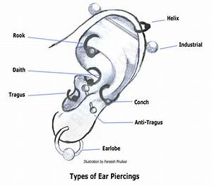 Ear Piercings for Men