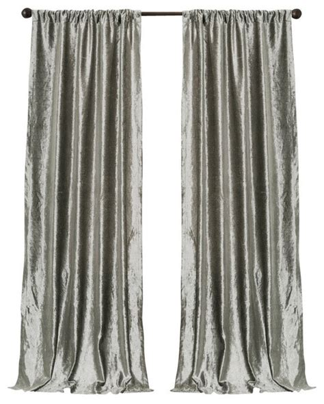 velvet silver bells window curtain set traditional