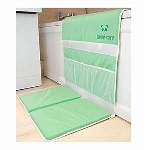 nooni care bebe tapis de bain avec repose genoux et With tapis de bain vert menthe