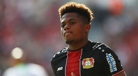 Manchester City keen on Bayer Leverkusen winger Leon Bailey