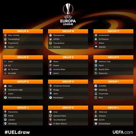 schedule  europa league games   tv