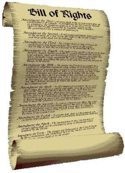 American History The First Ten Amendments To The