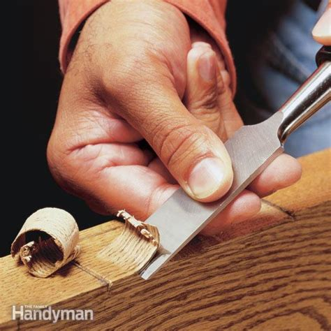 wood chisel  family handyman