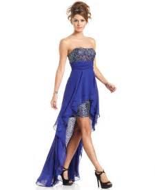 junior bridesmaid dresses macy s hailey logan juniors dress strapless from macys dresses