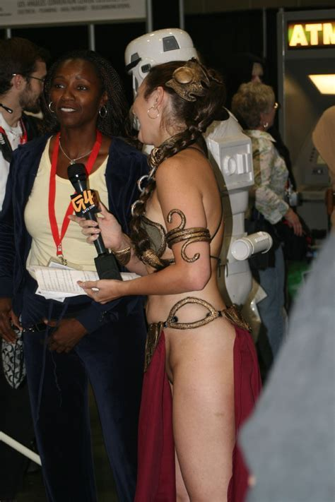 The Question When You Dress Up As Slave Leia Do You Wear Underwear Cosplay