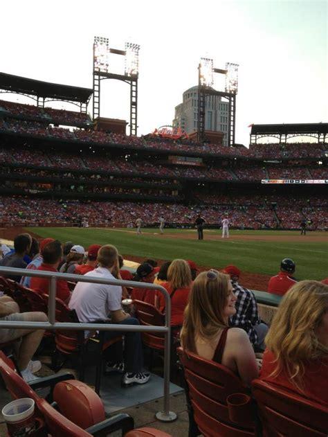 busch stadium section  home  st louis cardinals