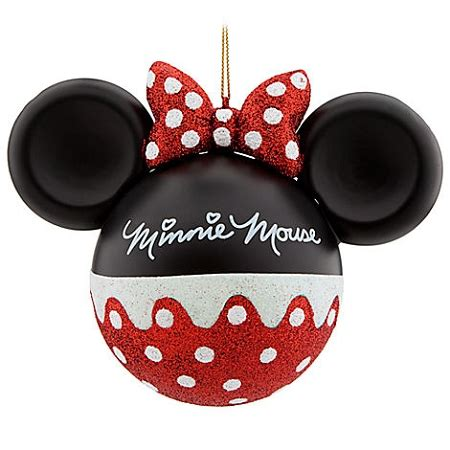 minnie mouse christmas decorations disney ornament mickey mouse ears minnie mouse