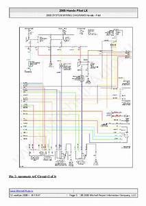 Honda Pilot Lx 2005 Wiring Diagrams Sch Service Manual