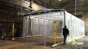 Industrial Retractable Spray Paint Booths & Dust Collec