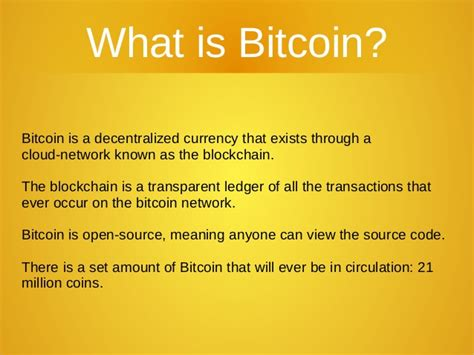 What Is Bitcoin Currency by What Is Bitcoin And Why Is It Important