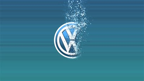 Blue And Green Wallpapers Volkswagen Logo Youtube