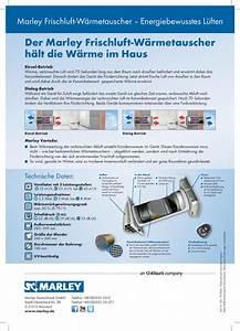 Frischluft Wärmetauscher Test : w rmetauscher marley menv 180 bei wohnfuehidee ~ Orissabook.com Haus und Dekorationen