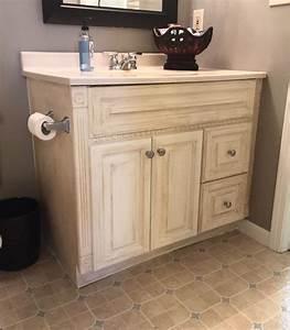 painting oak bathroom vanity with annie sloan chalk paint With annie sloan chalk paint bathroom vanity