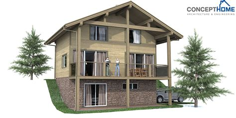 Small house plan CH59 design to small lot with three floors