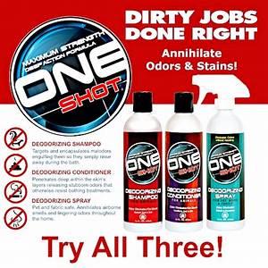 One Shot Dry Clean Spray