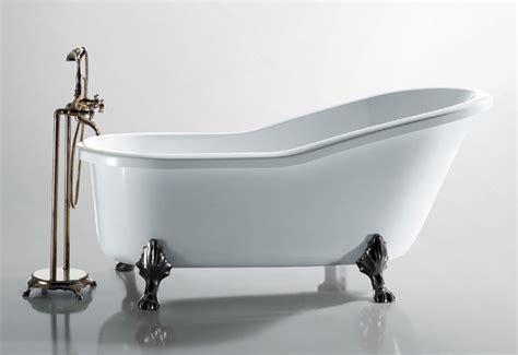 baignoire ilot solid surface classic sur pieds sanycces robinet cosmeticuprise