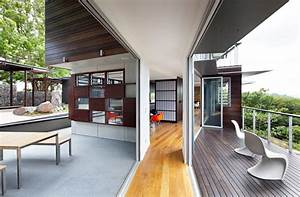 Glass House Mountain House By Bark Design In Maleny  Australia