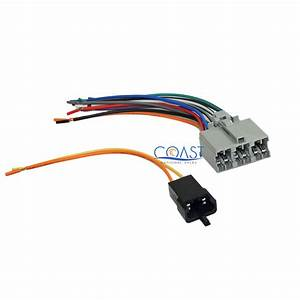 Plug Into Factory Radio Car Stereo Wire Wiring Harness For