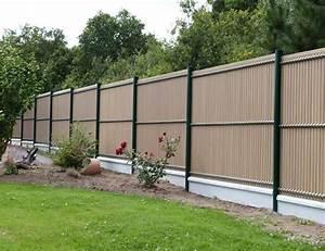 Idee De Cloture Pas Cher : cloture maison moderne clture de jardin lames en ~ Premium-room.com Idées de Décoration