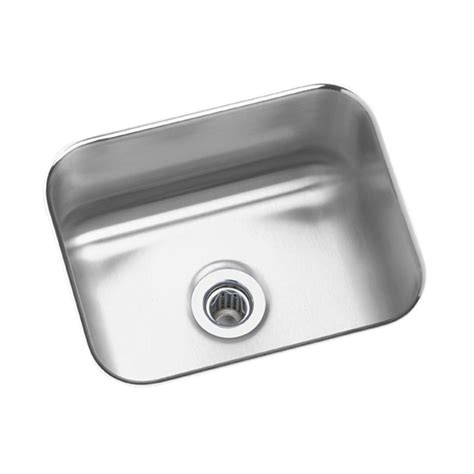 stainless steel kitchen sinks undermount elkay lustertone undermount stainless steel 15 in bar 8279