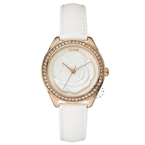 Guess 20563 Gold White 15 best guess watches touch of images on