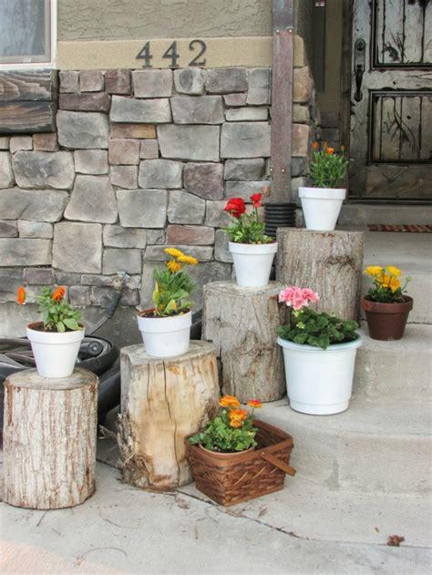Deko Garten Eingang by Garten Deko Ideen Die Garten Oder Haustreppe Mit Blumen