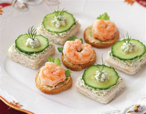 cheap easy canapes cucumber dill canapés recipe