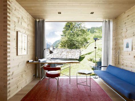 peter zumthors  designed home   swiss