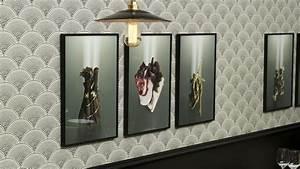 Papier Peint Japonisant : manger un restaurant chic et solidaire ~ Premium-room.com Idées de Décoration