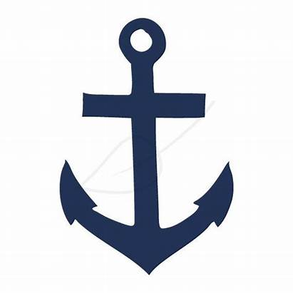 Anchor Clip Clipart Navy Stamp Digital Anker