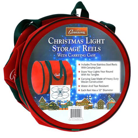 christmas light storage reels  camerons products