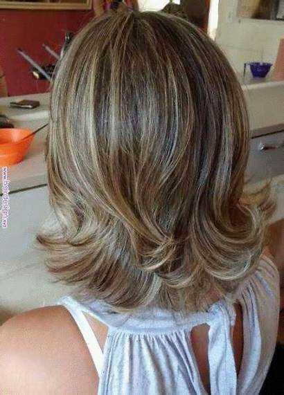 Hairstyles Cabelo Cabello Layered Cortes Haircuts Medio
