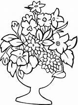 Flower Coloring Printable Printables sketch template
